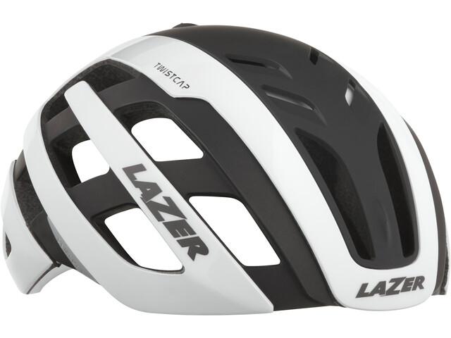 Lazer Century Fietshelm, wit/zwart